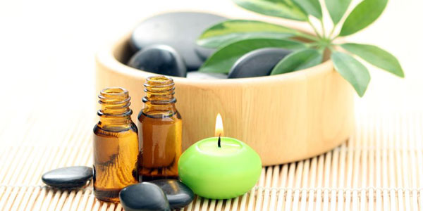 Aromatherapy massage for relaxation
